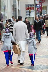 Street scene Birmingham city centre