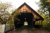 Woodstock Middle Bridge, Woodstock, Vermont