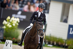 Langehanenberg Helen, GER, Straight Horse Ascenzione<br /> World Championship Young Dressage Horses - Ermelo 2019<br /> © Hippo Foto - Dirk Caremans<br /> Langehanenberg Helen, GER, Straight Horse Ascenzione
