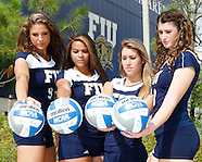 FIU Volleyball Team 2012 Photo Shoot