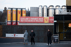 Tennent Caledonian Breweries  Wellpark Brewery in Glasgow, Scotland, UK