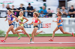Karolina Groevdal Bjerkeli of Norway, Katie Mackey of USA, Marusa Mismas of Slovenia and Matea Parlov of Croatia compete  in 3000m Women during IAAF World Challenge Zagreb - The 65th Hanzekovic Memorial Meeting, on September 8, 2015, in Stadium Mladost, Zagreb, Croatia. Photo by Vid Ponikvar / Sportida