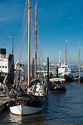 Museumshafen Oevelgoenne, Hamburger Hafen, Hamburg, Deutschland.|.museums harbour Oevelgoenne, port, Hamburg, Germany
