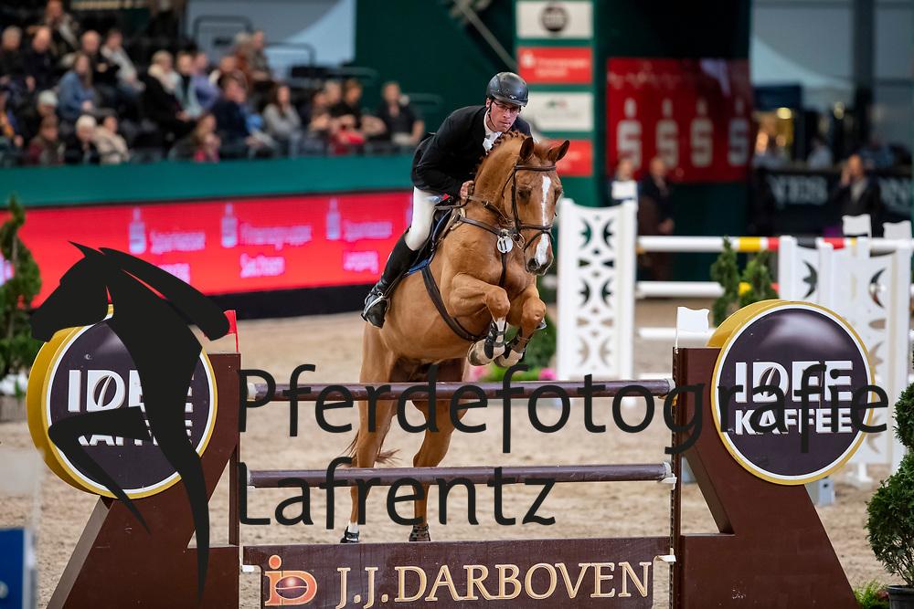 KÖLZ Michael (GER), DSP Anpowikapi<br /> Leipzig - Partner Pferd 2019<br /> IDEE Kaffe Preis<br /> CSI5*<br /> 18. Januar 2019<br /> © www.sportfotos-lafrentz.de/Stefan Lafrentz