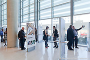 Marathon d'architecture et Exposition « Parcours littéraire d'une architecture gagnante » organisé par Les PEA (Prix d'Excellence en Architecture) de l'OAQ (Ordre des Architectes du Quebec) -  la Grande Bibliotheque / Montreal / Canada / 2011-04-30, Photo : © Marc Gibert/ adecom.ca