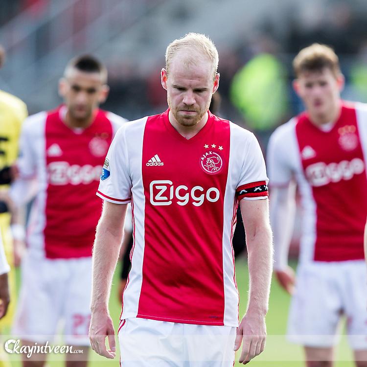 ROTTERDAM - Excelsior - Ajax , Voetbal , Seizoen 2016/2017 , Eredivisie , Stadion Woudestein , 19-03-2017 , Ajax speler Davy Klaassen is teleurgesteld