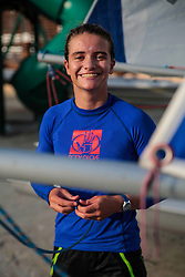 World Sailing Emerging Nations Program - Boca Chica Sailing Club, Santo Domingo 08/19/2017 - DAY 1- Katya Castellanos from Guatemala