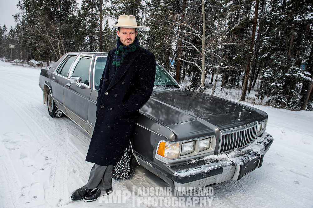 Ryan McNally and the Grand Marquis