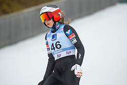 EDER Lisa (AUT) during second round on day 2 of  FIS Ski Jumping World Cup Ladies Ljubno 2020, on February 23th, 2020 in Ljubno ob Savinji, Ljubno ob Savinji, Slovenia. Photo by Matic Ritonja / Sportida