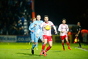 Stevenage's defender Ron Henry sees the ball out during the EFL Sky Bet League 2 match between Stevenage and Coventry City at the Lamex Stadium, Stevenage, England on 21 November 2017. Photo by Matt Bristow.