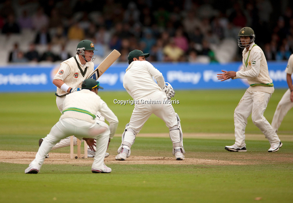 Marcus North bats during the MCC Spirit of Cricket Test Match between Pakistan and Australia at Lord's.  Photo: Graham Morris (Tel: +44(0)20 8969 4192 Email: sales@cricketpix.com) 15/07/10