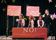 Performers take the stage for Sagamore Hills Elementary School's 2011 Showcase of Stars talent show on Friday, Oct. 21, 2011, in Atlanta. Thirty-three acts ranging from magic tricks to solos, dances and group performances played to a full house at the DeKalb County school. (David Tulis/dtulis@gmail.com)