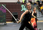 Live Oak Middle School Winterguard
