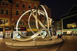 Spirit of Belfast sculpture by Dan George in Arthur Square near the Victoria Square Shopping Centre in Belfast<br /> <br /> (c) Andrew Wilson   Edinburgh Elite media