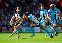 Bristol Winger Andy Short - Photo mandatory by-line: Joe Meredith/JMP - Mobile: 07966 386802 - 7/09/14 - SPORT - RUGBY - Bristol - Ashton Gate - Bristol Rugby v Worcester Warriors - The Rugby Championship