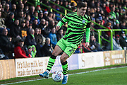 Forest Green Rovers Jack Aitchison(29), on loan from Celtic during the EFL Sky Bet League 2 match between Forest Green Rovers and Plymouth Argyle at the New Lawn, Forest Green, United Kingdom on 16 November 2019.