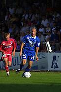 16.08.2001 Tampere, Finland. Veikkausliiga, Tampere United v Atlantis FC. Ville Lehtinen (TreU)..©JUHA TAMMINEN