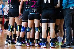 During the return handball match of the EHF Women's Cup Winners' Cup Last 16 between RK Krim Mercator and SC Municipal Craiova, on January 16, 2016 in Arena Kodeljevo, Ljubljana, Slovenia. Photo by Urban Urbanc/ Sportida