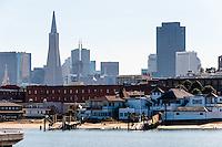 United States, California, San Francisco. City with the Transamerica Pyramid.
