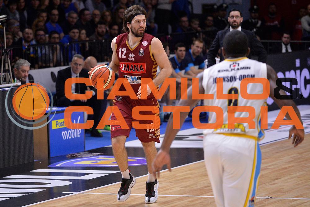 Ariel Filloy<br /> Vanoli Cremona - Umana Reyer Venezia<br /> Lega Basket Serie A 2016/2017<br /> Cremona, 26/02/2017<br /> Foto M.Ceretti / Ciamillo - Castoria