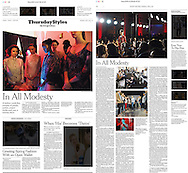 Christian Fashion Week, THE NEW YORK TIMES