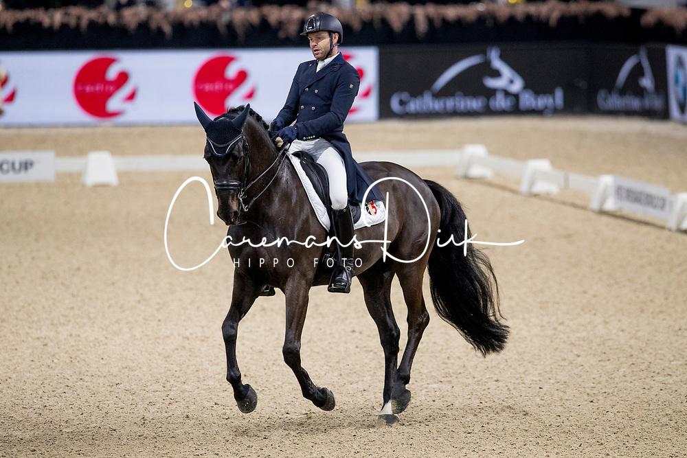Verheyen Sam, BEL, Kryptonite van de Performing<br /> Jumping Mechelen 2019<br /> © Hippo Foto - Sharon Vandeput<br /> 29/12/19