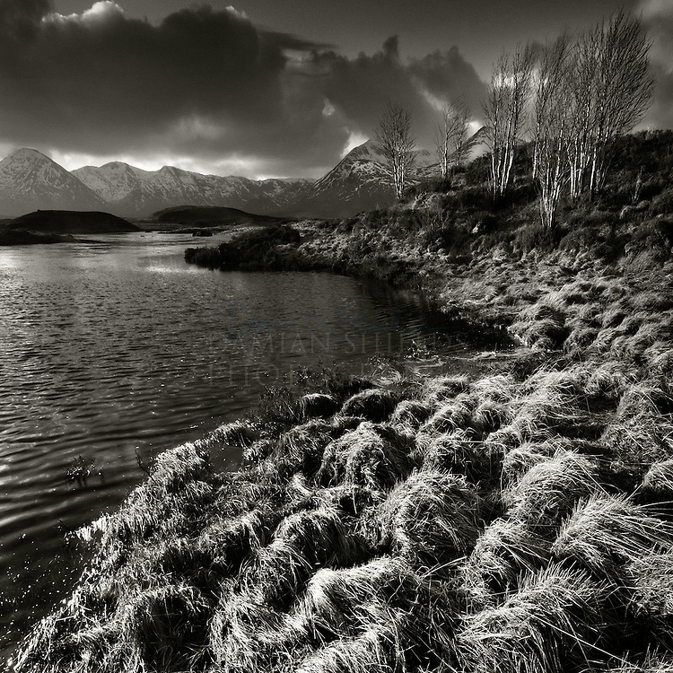 Loch Na Achlaise and Black Mount, Rannoch moor