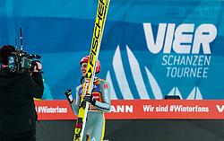 01.01.2018, Olympiaschanze, Garmisch Partenkirchen, GER, FIS Weltcup Ski Sprung, Vierschanzentournee, Garmisch Partenkirchen, Wertungsdurchgang, im Bild Richard Freitag (GER) // Richard Freitag of Germany during the Competition Jump for the Four Hills Tournament of FIS Ski Jumping World Cup at the Olympiaschanze in Garmisch Partenkirchen, Germany on 2018/01/01. EXPA Pictures © 2018, PhotoCredit: EXPA/ JFK