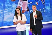 Cecilia Zandalasini, Alessandro Mamoli<br /> Raduno Nazionale Italiana Maschile Senior<br /> Media Day - Sky <br /> Milano, 21/07/2017<br /> Foto Ciamillo-Castoria/ M.Ceretti