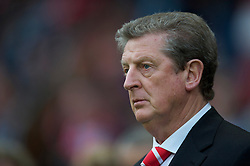 UTRECHT, THE NETHERLANDS - Thursday, September 30, 2010: Liverpool's manager Roy Hodgson before the UEFA Europa League Group K match against FC Utrecht at the Stadion Galgenwaard. (Photo by David Rawcliffe/Propaganda)