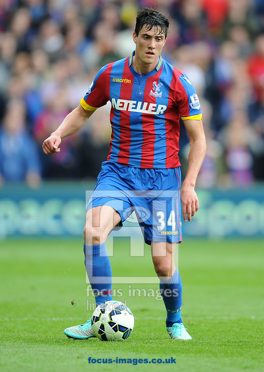 Martin Kelly of Crystal Palace during the Barclays Premier League match at Selhurst Park, London<br /> Picture by Alan Stanford/Focus Images Ltd +44 7915 056117<br /> 18/10/2014