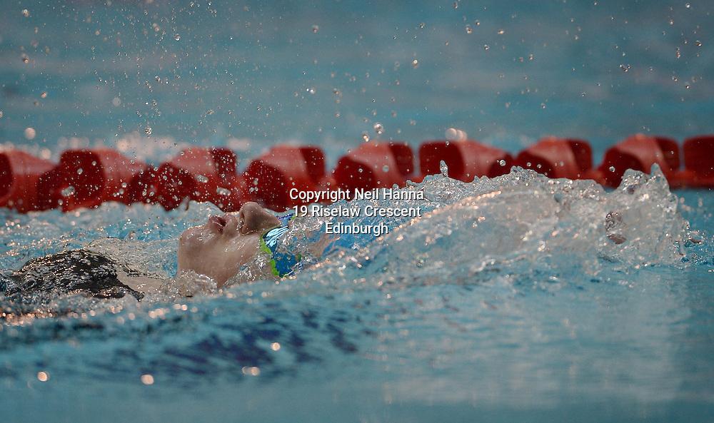 British Para-Swimming International Meet 2016, Tollcross Swimming Centre, Glasgow.<br /> <br /> Event 201 Womens MC 100m Backstroke <br /> <br /> Laura Pilkington<br /> <br />  Neil Hanna Photography<br /> www.neilhannaphotography.co.uk<br /> 07702 246823