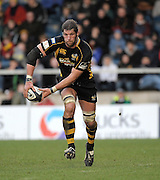 Wycombe, GREAT BRITAIN,   Wasps', Simon SHAW, during the Guinness Premiership rugby game, London Wasps vs Northampton Saints, at Adam's Park Stadium, Bucks, England, on Sun 22.02.2009. [Photo, Peter Spurrier/Intersport-images]