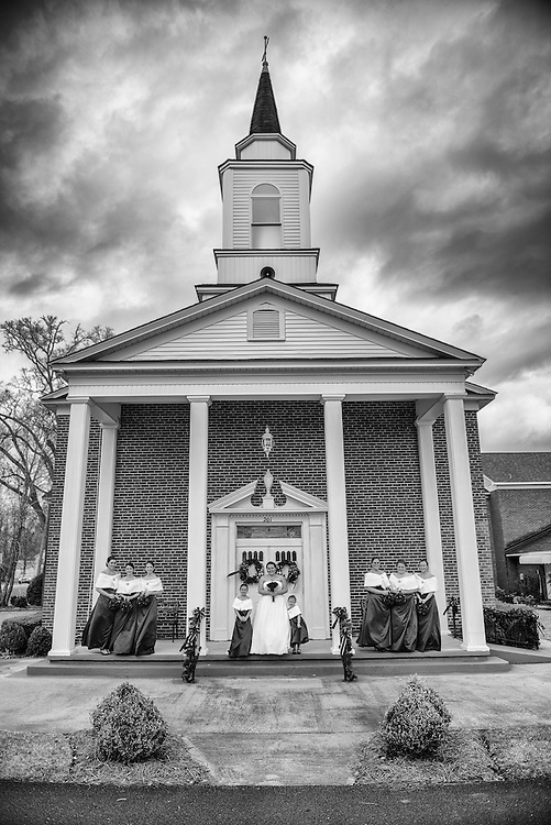 Josh and Crystal Wedding | Maysville NC Photographers