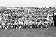 All Ireland Minor Hurling Final at Croke Park - Tipperary v Kilkenny..The Tipperary team..05.09.1976  5th September 1976