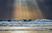 Sun Rays Lighting up the Pacific Ocean