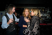 IVOR BRAKA; JERRY HALL; PRINCESS CHANTAL OF HANOVER, Cloak and Dagger, - Amanda Eliasch - book launch - Entertainment by Miss Polly Rae and her Hurly Burly girls. <br />