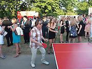 BILL WYMAN, The Summer Party. Serpentine Gallery. 8 July 2010. -DO NOT ARCHIVE-© Copyright Photograph by Dafydd Jones. 248 Clapham Rd. London SW9 0PZ. Tel 0207 820 0771. www.dafjones.com.