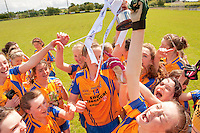 Clare U 14 who beat Sligo in the All ireland U14 C championship final in Kilkerrin-Galway Photo: Andrew Downes..