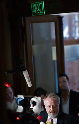09.05.2016, Parlament, Wien, AUT, SPÖ, Sitzung des Parteivorstands nach dem überraschenden Rücktritt von Bundeskanzler Faymann. im Bild SPÖ Bundesgeschäftsführer Gerhard Schmid // during board meeting of the austrian social democratic party afterresignation of the austrian chancellorFaymann at austrian parliament in Vienna, Austria on 2016/05/09. EXPA Pictures © 2016, PhotoCredit: EXPA/ Michael Gruber
