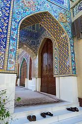 The Iranian Mosque in Satwa Dubai United Arab Emirates