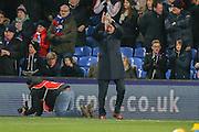 Crystal Palace Manager Alan Pardew  during the Barclays Premier League match between Crystal Palace and Sunderland at Selhurst Park, London, England on 23 November 2015. Photo by Simon Davies.