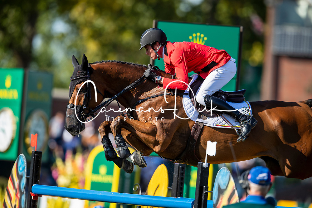 Clemens Pieter, BEL, Quintini<br /> Spruce Meadows Masters - Calgary 2019<br /> © Hippo Foto - Dirk Caremans<br />  08/09/2019