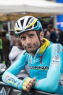 Michele Scarponi (ITA AST) before the start of Il Lombardia 2015 (Bergamo - Como)