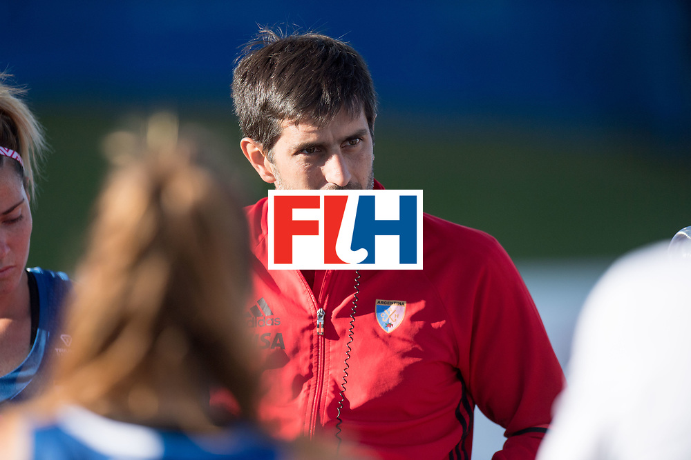AUCKLAND - Sentinel Hockey World League final women<br /> Match id: 10301<br /> 11 GER v ARG (Pool B)<br /> Foto: Agustin CORRADINI Head Coach <br /> WORLDSPORTPICS COPYRIGHT FRANK UIJLENBROEK