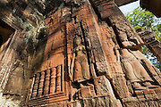 Carvings at Angkor Temples (Cambodia)