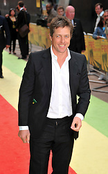 © licensed to London News Pictures. London, UK.  09/05/11. Hugh Grant attends the London premiere of Fire in Babylon in Leicester Square . Please see special instructions for usage rates. Photo credit should read AlanRoxborough/LNP