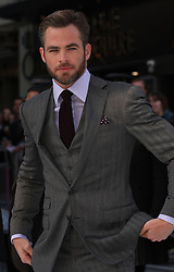 Chris Pine during the International Film Premiere for Star Trek Into Darkness, The Empire Cinema,  London, UK, on 02 May 2013, 03 May 2013. Photo by:  i-Images