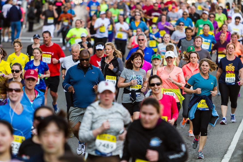 Boston Marathon: BAA 5K road race