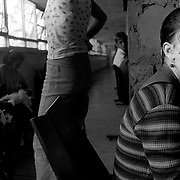 Waiting at the clinic. Cienfuegos, Cuba. 2000.